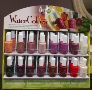 Waterbased Nail Polish